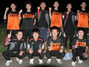 全日本大学駅伝出場を決めた選手たち(2007.06.23)