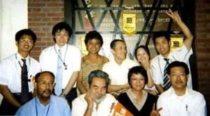 石丸和明(82期)の上海支部交流記
