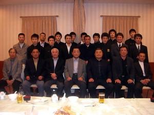戸高鉱業社主催「ボクシング部激励会」