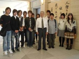 紅陵祭参加学生交流訪問報告①