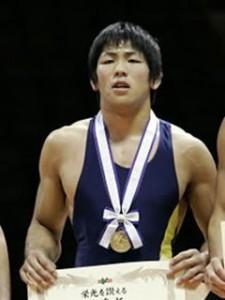 全日本選手権優勝選手男子フリースタイル66kg級・米満達弘(拓大)①