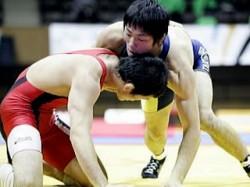 全日本選手権優勝選手男子フリースタイル66kg級・米満達弘(拓大)②