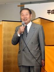 新雄弁会OB会長に54期 佐藤和男先輩