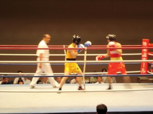 ボクシング関東大学リーグ戦①