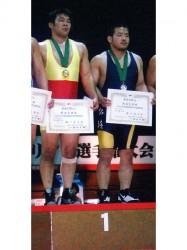 レスリング東日本学生春季新人戦②