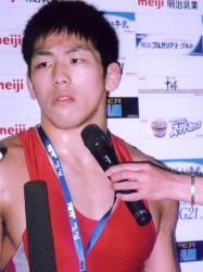 レスリング米満選手