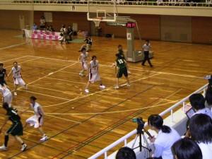 女子バスケットボール関東リーグ戦①