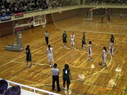 女子バスケットボール関東リーグ戦②