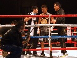 内山ボクシング②