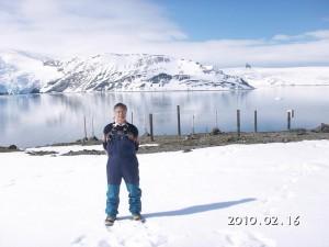 南極の巻田先生から第3報