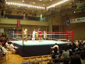 第63関東大学ボクシングリーグ戦①