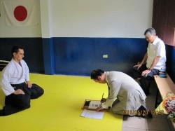 日本大使サンホセを視察②
