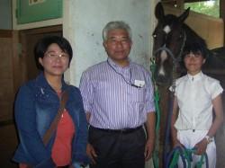 田中さんとご両親