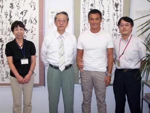渡辺裕之氏 学友会訪問