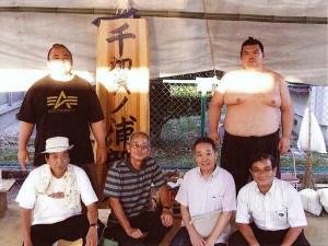 大相撲名古屋場所中に千賀ノ浦部屋を訪ねる