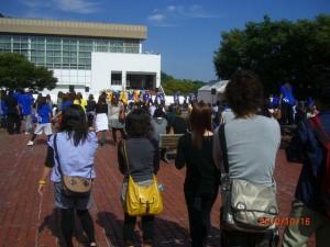 平成22年度拓殖大学紅陵祭参加学生交流訪問①