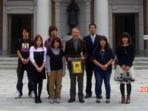 平成22年度拓殖大学紅陵祭参加学生交流訪問⑧