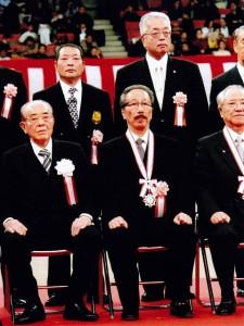 津山捷泰氏の武道功労章受章記念祝賀会