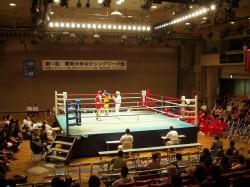 第64回関東大学ボクシングリーグ戦拓大対日大戦②