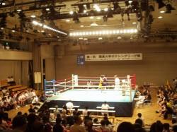 第64回関東大学ボクシングリーグ戦拓大対法大戦②