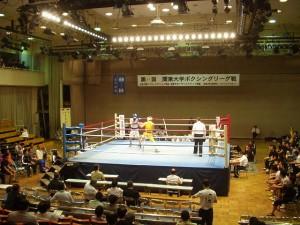 第65回関東大学ボクシングリーグ戦 拓大対日体大①