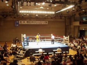 第65回関東大学ボクシングリーグ戦 拓大対農大戦①