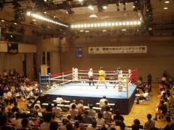 第65回関東大学ボクシングリーグ戦 拓大対法大戦②