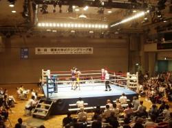 第65回関東大学ボクシングリーグ戦 拓大対法大戦③