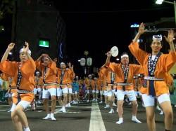 2012年 阿波踊り学友会連②