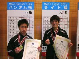 左:藤田大和 右:井上浩樹