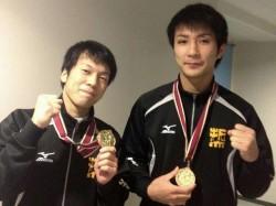 左:野邊優作 右:斎藤 晶