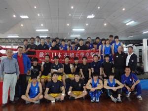 ボクシング部台湾遠征