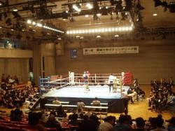 関東大学ボクシングリーグ戦 拓大対法大戦③
