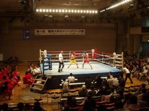 関東大学ボクシングリーグ戦 拓大対日大戦①