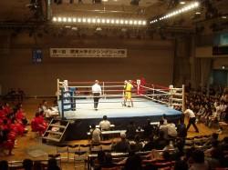 関東大学ボクシングリーグ戦 拓大対日大戦②