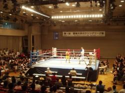 関東大学ボクシングリーグ戦 拓大対駒大戦①