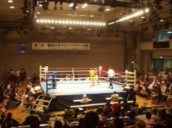 関東大学ボクシングリーグ戦 拓大対駒大戦②