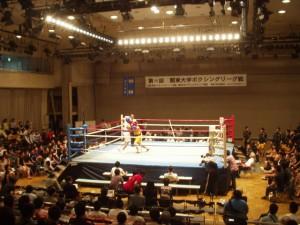 関東大学ボクシングリーグ戦 拓大対駒大戦③