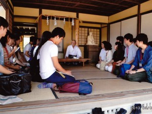 桂太郎塾生が萩に、松下村塾で講義