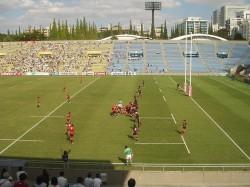 関東大学ラグビーリーグ戦一部 拓大対日大②