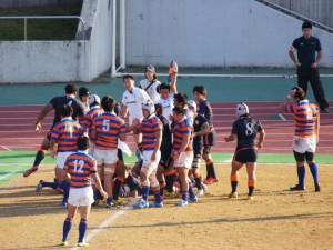 関東大学ラグビーリーグ戦一部 拓大対法大①