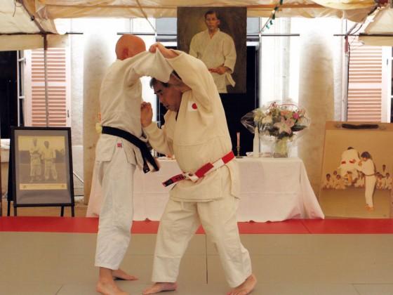 平野時男師範20年追悼式