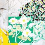 堀 文子 展 2014…現在~初夏の白い花たち~