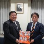台湾連合会新会長、学友会本部を訪問①