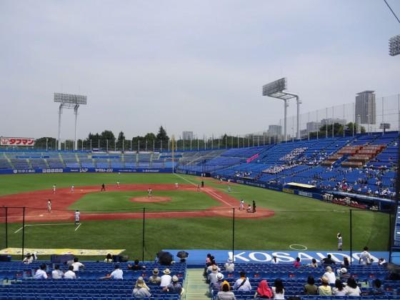 野球入替戦第1戦①