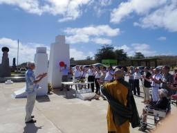 太平洋之塔建立45周年慰霊祭⑤
