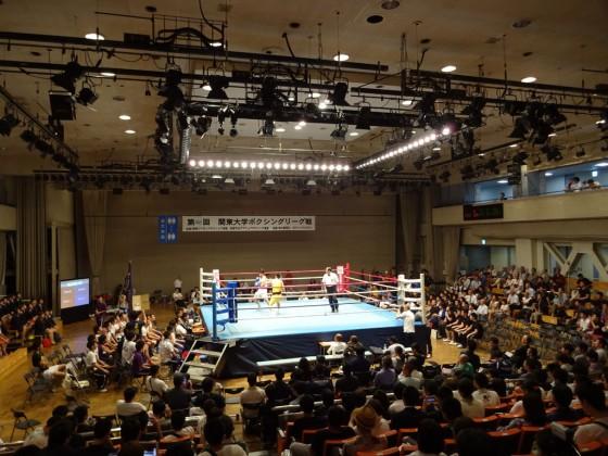 関東大学ボクシングリーグ戦 拓大対駒大①