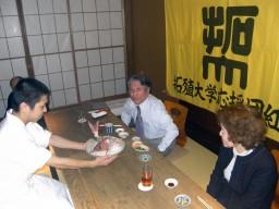 赤澤学友会長の傘寿を祝う会②