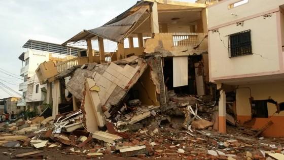 マンタ市地震緊急支援のお願い