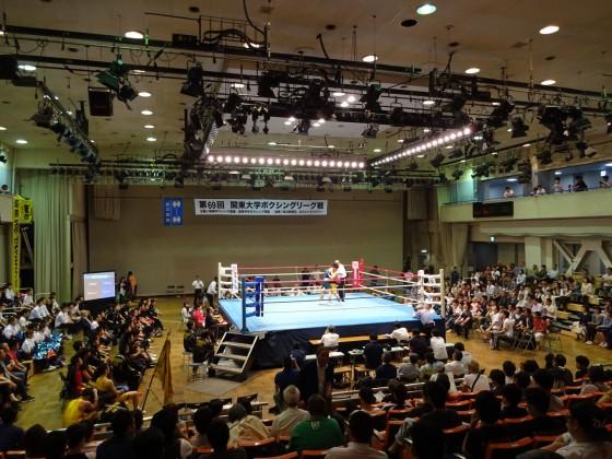 関東大学ボクシングリーグ戦 拓大対東農大①
